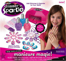 cra z art shimmer u0027n sparkle manicure magic set toys u0026 games