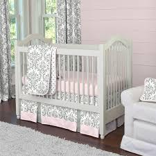 White Crib Bedding Sets by Pink Crib Bedding Home Inspirations Design