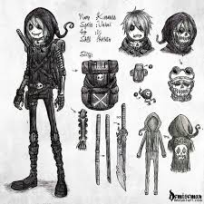 best 25 emo art ideas on pinterest skull face dark anime art