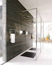 Bathroom Stalls Without Doors Scenic Open Shower Bathroom Concept And Tub Stall Ideas Pictures