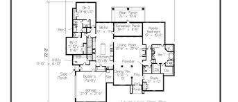 Fontainebleau Floor Plan Home Designs 3000 3500 Sq Ft Archives Home Designs