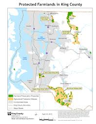 Washington County Map by Protected Farmland Map King County