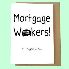 mortgage wnkers new home card new house moving card