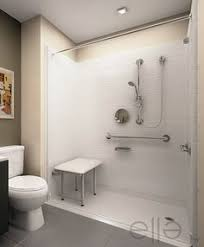 Shower Packages Bathroom Handicap Showers Handicap Shower Stall Brick Edging