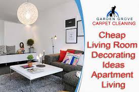 Cheap Living Room Decorating Ideas Apartment Living  Garden