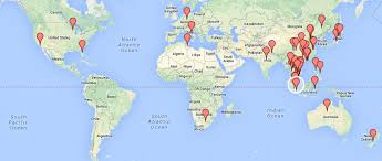 20 countries and 5 continents during their festival