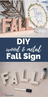 keys to inspiration unlock creativity in your home diy wood and metal fall sign