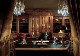 classic home office design stylish and dramatic masculine home