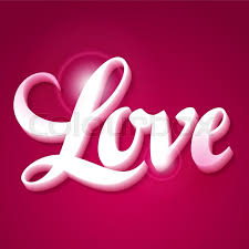 Designs Of Making Greeting Cards For Valentines Valentine Day Background With Word Love On Pink Background Design