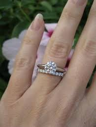 engagement ring and wedding band wedding bands diamond rings wedding promise diamond