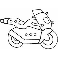 motorcycle coloring pages easy coloring pages ideas