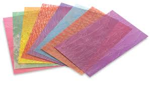 roylco frosted glass craft paper blick materials
