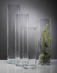 vasi in vetro economici cilindro in vetro h 80 in 3 misure san michele di ganzaria catania