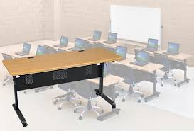 flip top office tables modular flip top training tables 60 w x 24 d training table see