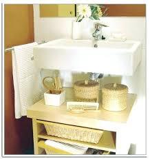 Bathroom Sink Storage Solutions Pedestal Sink Storage Ideas Pedestal Sink Storage Cabinet