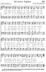 we gather together hymns songs christian and