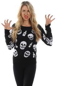 womens halloween shirt women u0027s drinking skeletons sweater tipsy elves