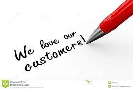 writing white papers 3d pen writing we love our customers royalty free stock royalty free stock photo