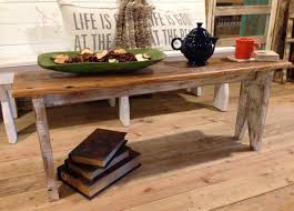 Cottage Coffee Table Cottage Chic Bench Coffee Table Back Country Furniture Designs