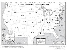 all sizes color your own electoral college map flickr photo
