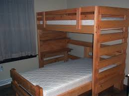 Full Over Full Bunk Bed Plans With Stair And Trundle  Full Over - Full over full bunk bed plans