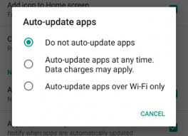 android disable auto update how to disable auto updates for individual android app