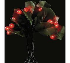 Argos Christmas Garden Decorations by Buy 60 Holly And Berry Christmas Tree Lights Red At Argos Co Uk