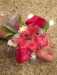 corsage for homecoming soft pink and lime green homecoming corsage corsages