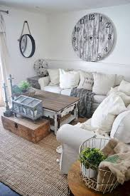 35 shabby chic farmhouse living room design ideas decorapartment