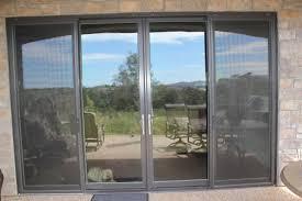 Aluminum Clad Exterior Doors Marvin Bronze Aluminum Clad Exterior Narrow Style Rail Sliding