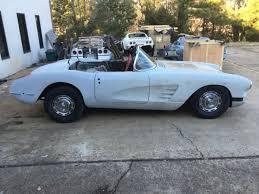 corvette project 1958 corvette project car and frame factory black car