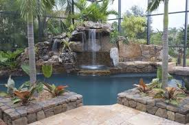 Backyard Waterfall Ideas by Pool Waterfall Ideas You Can Recreate In Your Backyard Decor