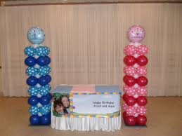 Columns For Party Decorations Prince And Princess Party Decorations By Teresa
