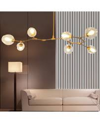 modern simple elements pendant lamp living room bedroom creative