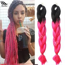 how many packs of hair for jumbo braids 24 5pcs pack ombre kanekalon jumbo braids hair synthetic weave