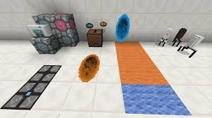 Minecraft Pe Maps Ios Portal 2 Mod For Minecraft Pe 0 14 0 Mcpesix