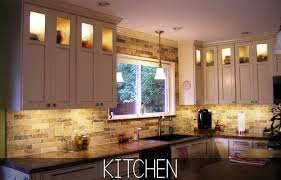 Lights Above Kitchen Cabinets Home Decoration Ideas