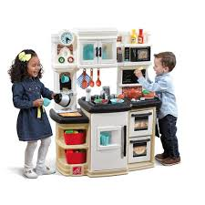 step2 great gourmet kitchen set neutral toys