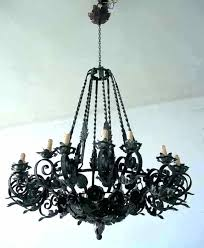 Simple Wrought Iron Chandelier Small Rustic Chandelier Simple 3 Light Wrought Iron Modern Rustic