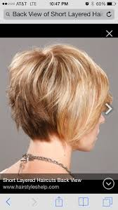 short hair image front and back view short layered back view hair pinterest layering shorts and
