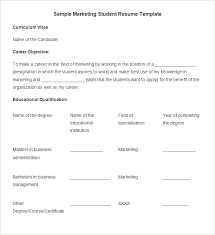 sample resume for mba marketing experience resume templates for marketing marketing manager resume samples
