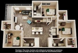 3 bedroom 3 bath floor plans student apartments in ta near usf iq apartments
