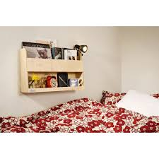 BOOKS BUNK BED BUDDY NATURAL - Tidy books bunk bed buddy
