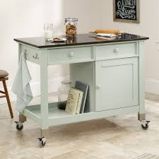 mobile kitchen island sauder kitchen islands and carts original cottage 414385 mobile