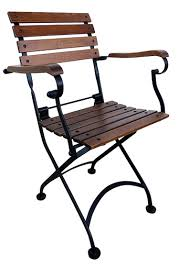 Folding Armchair French Cafe Chairs Folding Chairs Teak Chairs Metal Folding