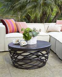Diy Patio Coffee Table Outdoor Coffee Tables Patio The Home Depot Inside Table Designs 0