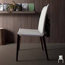 sedie sala da pranzo moderne set 2 sedie moderne per sala da pranzo in cuoio rigenerato davis