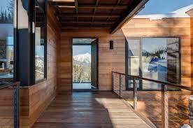 mountain home contemporary architecture interior design