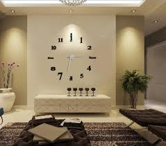 Decorative Wall Clocks For Living Room Prissy Ideas Big Clocks For Living Room Innovative Decoration