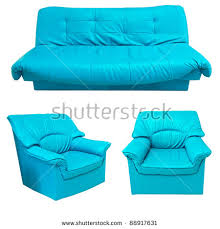 teal blue leather sofa blue leather sofa set isolated on stock photo 88917631 shutterstock
